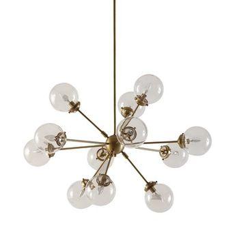 Kody 12 Light Sputnik Modern Linear Chandelier Allmodern