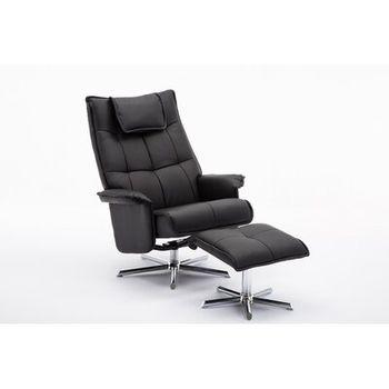 Mcnamara Faux Leather Manual Swivel Recliner Wayfair