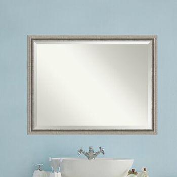 Amare Rustic Beveled Vanity Mirror Wayfair
