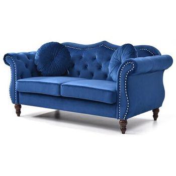 Evianna Nailhead Chesterfield Sofa Wayfair