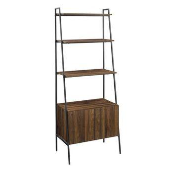 Diego Ladder Bookcase Dark Walnut Wayfair