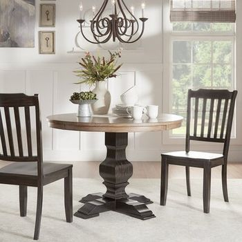 Rucks Wooden Dining Table Wayfair