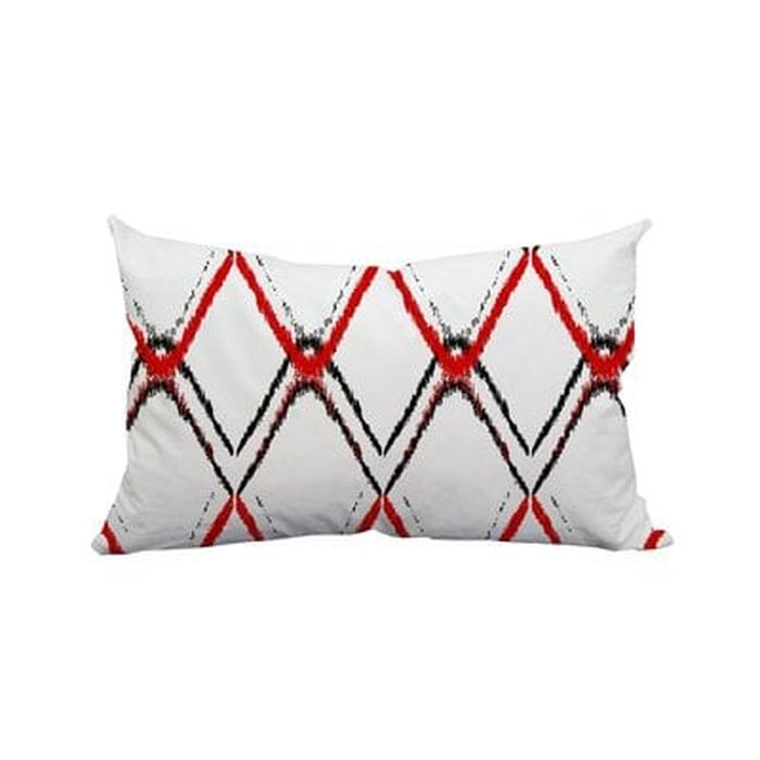 Mallard Diamond Ikat Indoor Outdoor Lumbar Pillow Wayfair