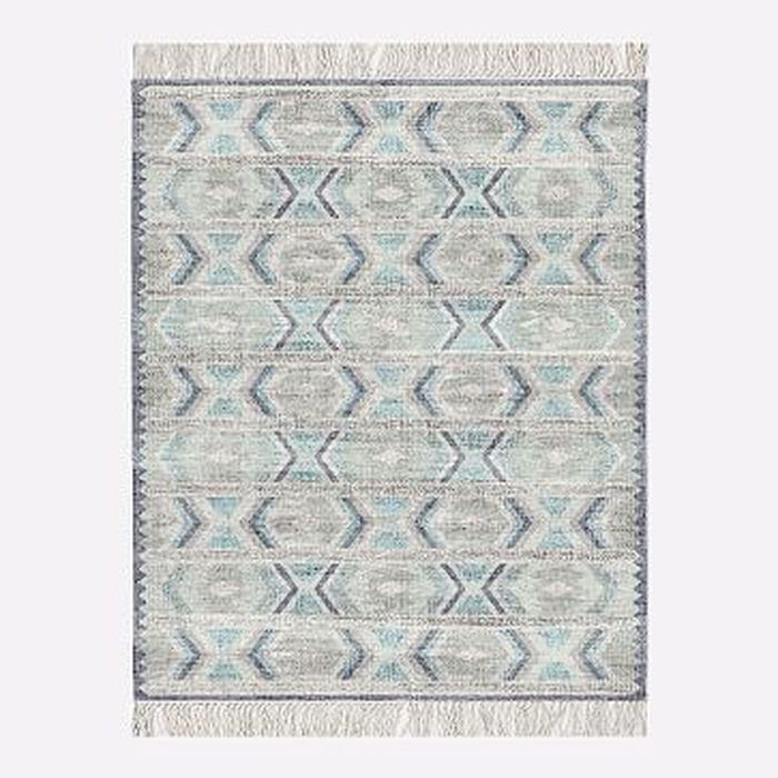 Mto Campo Rug Blue Teal 8x10 West Elm
