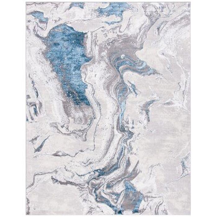 Mieka Abstract Gray Area Rug Wayfair