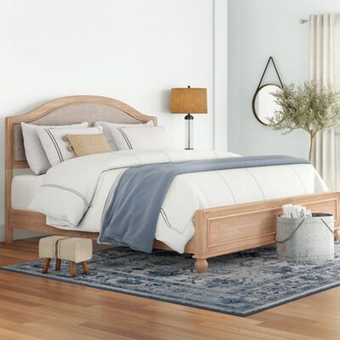 Romford Upholstered Standard Bed Birch Lane