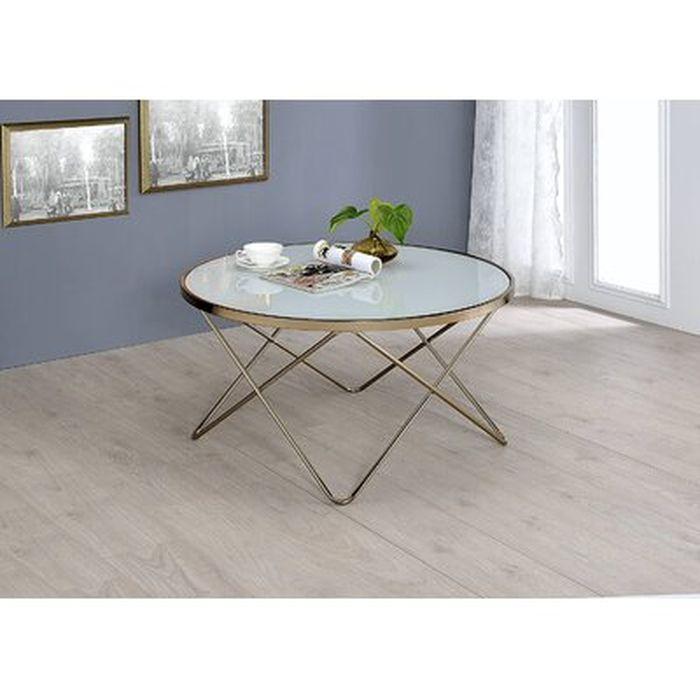 Antero Cross Legs Coffee Table Wayfair