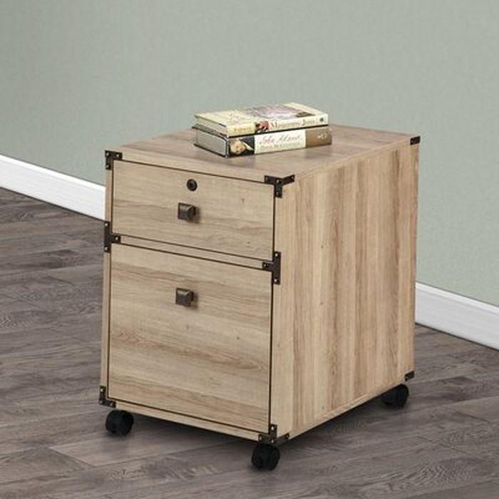 Stinnett 1 Drawer Mobile Vertical File Cabinet Wayfair