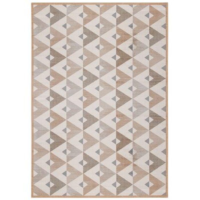 Abida Geometric Gray Beige Area Rug Wayfair