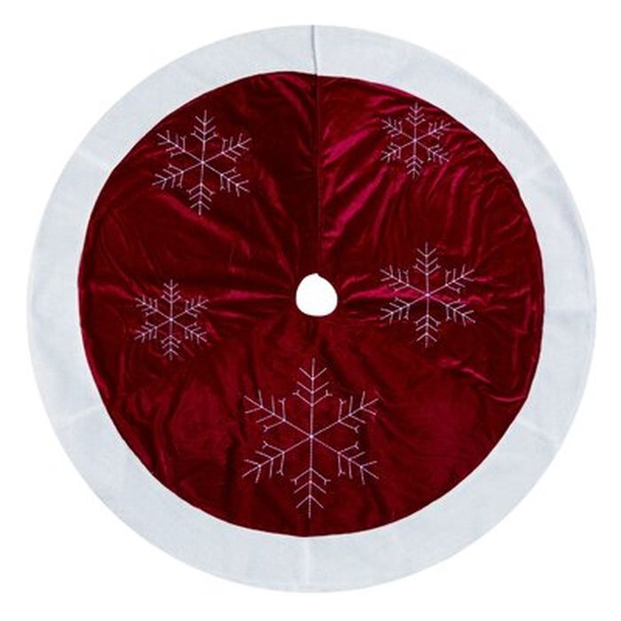 Snowflake Tree Skirt Wayfair