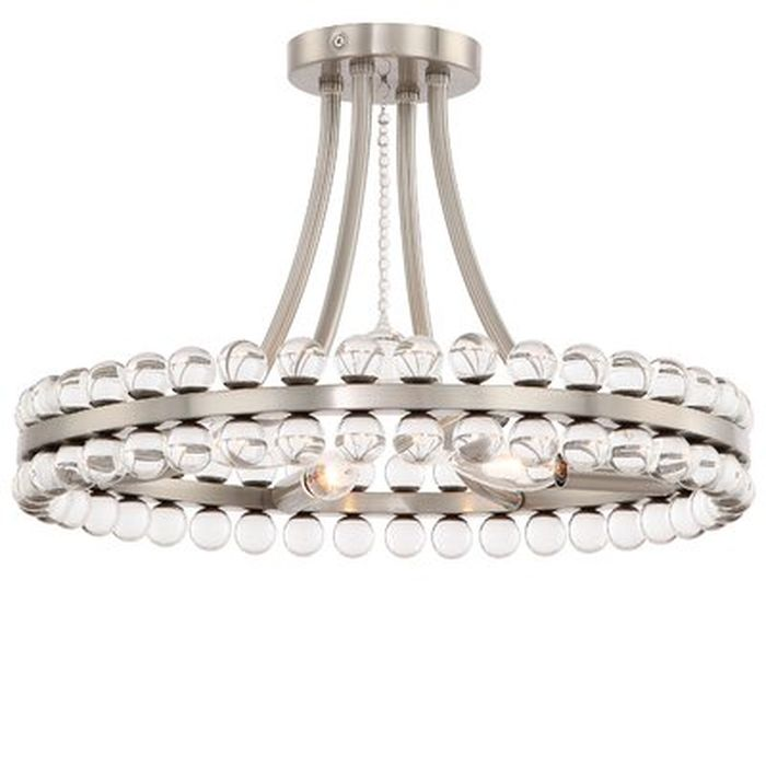 Gehlert 4 Light Semi Flush Mount Wayfair
