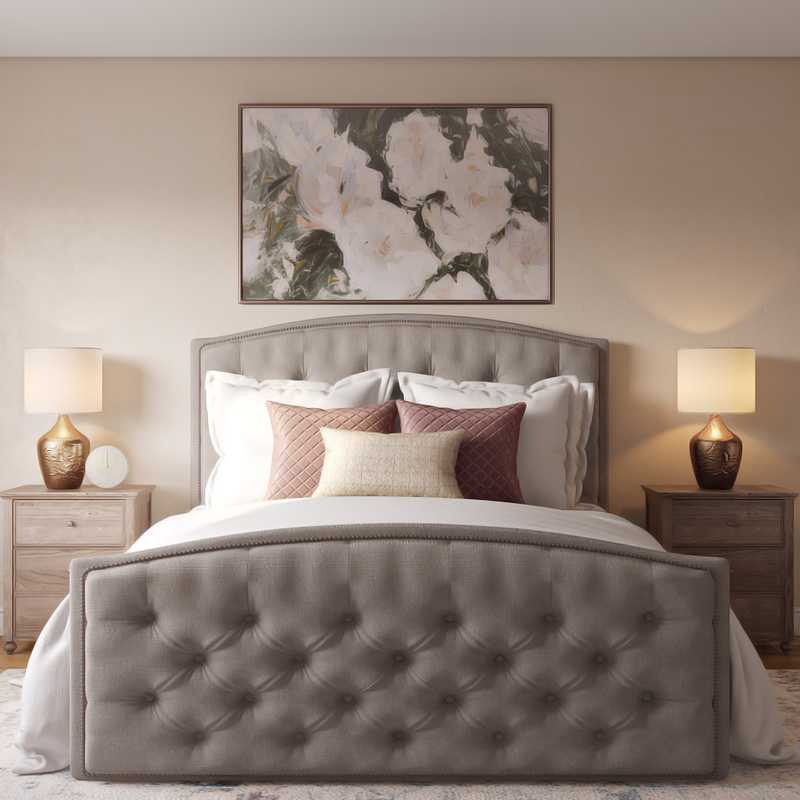 Modern, Classic, Glam Bedroom Design by Havenly Interior Designer Clare