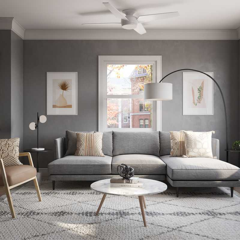 Living Room Design by Havenly Interior Designer Randi