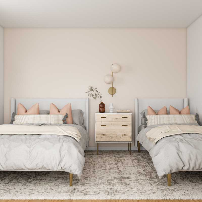 Eclectic, Bohemian, Coastal, Vintage, Minimal Bedroom Design by Havenly Interior Designer Lilly