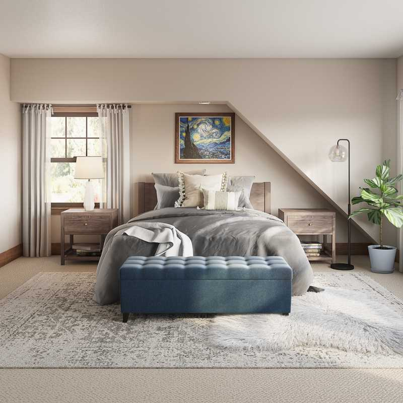 Modern Bedroom Design by Havenly Interior Designer Camille