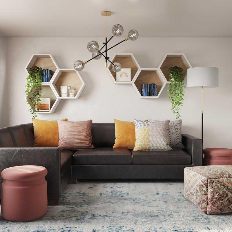 Bohemian, Midcentury Modern Other Design by Havenly Interior Designer Ghianella