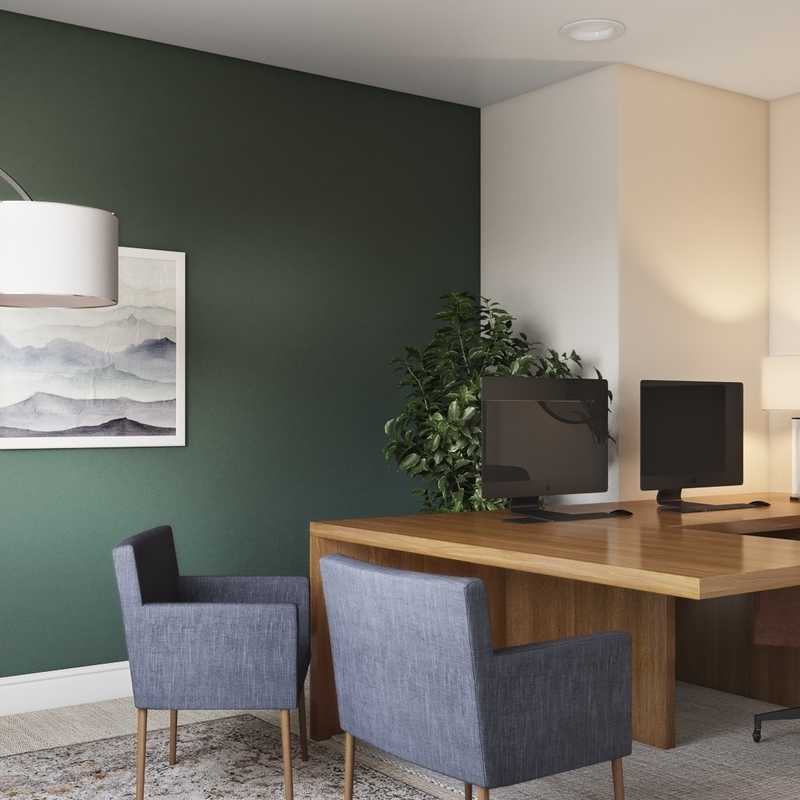 Office Design by Havenly Interior Designer Marsha