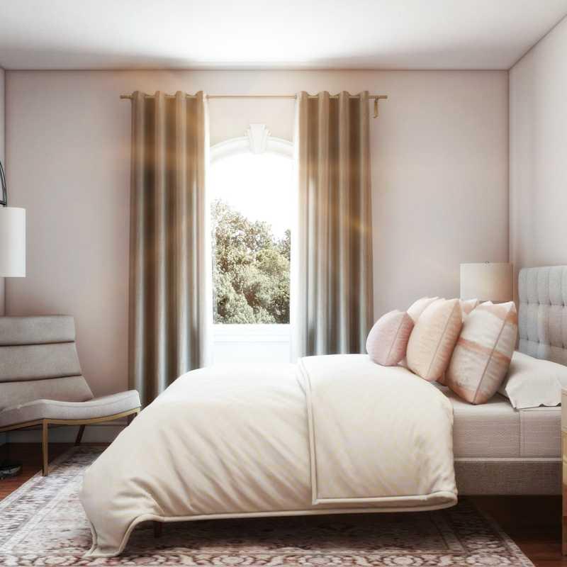 Classic, Glam Bedroom Design by Havenly Interior Designer Noorulain