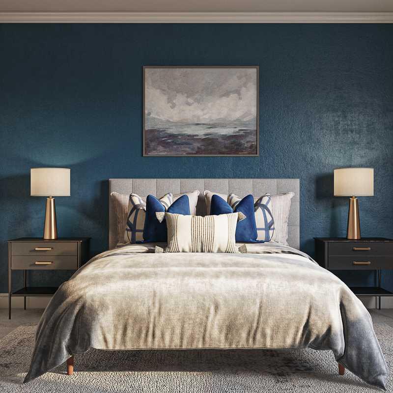 Modern, Scandinavian Bedroom Design by Havenly Interior Designer Natalie