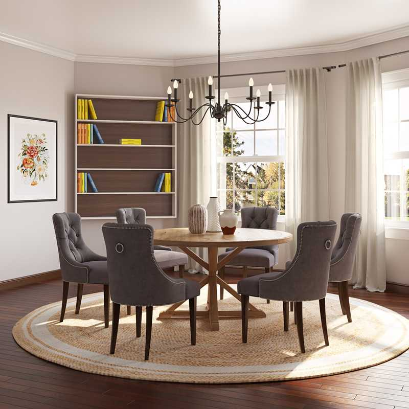 Dining Room Design by Havenly Interior Designer Michelle