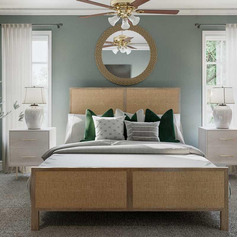 Transitional Bedroom Design by Havenly Interior Designer Jemma