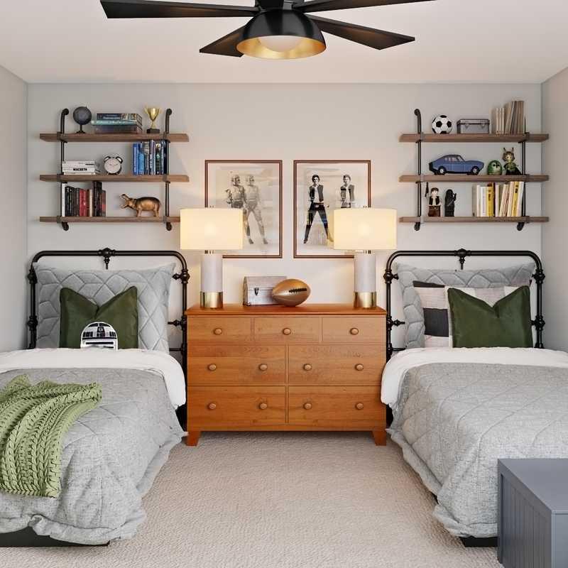 Classic Bedroom Design by Havenly Interior Designer Kelsey