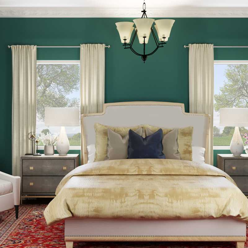 Traditional Bedroom Design by Havenly Interior Designer Candace