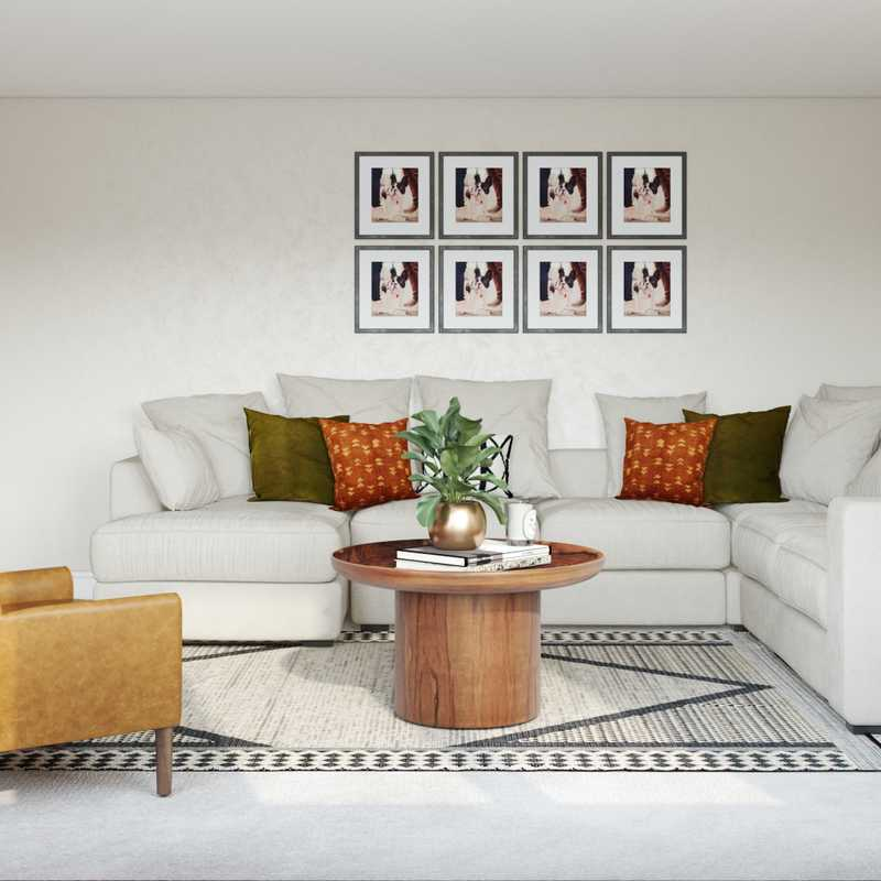 Modern, Eclectic, Bohemian, Midcentury Modern Other Design by Havenly Interior Designer Stacy