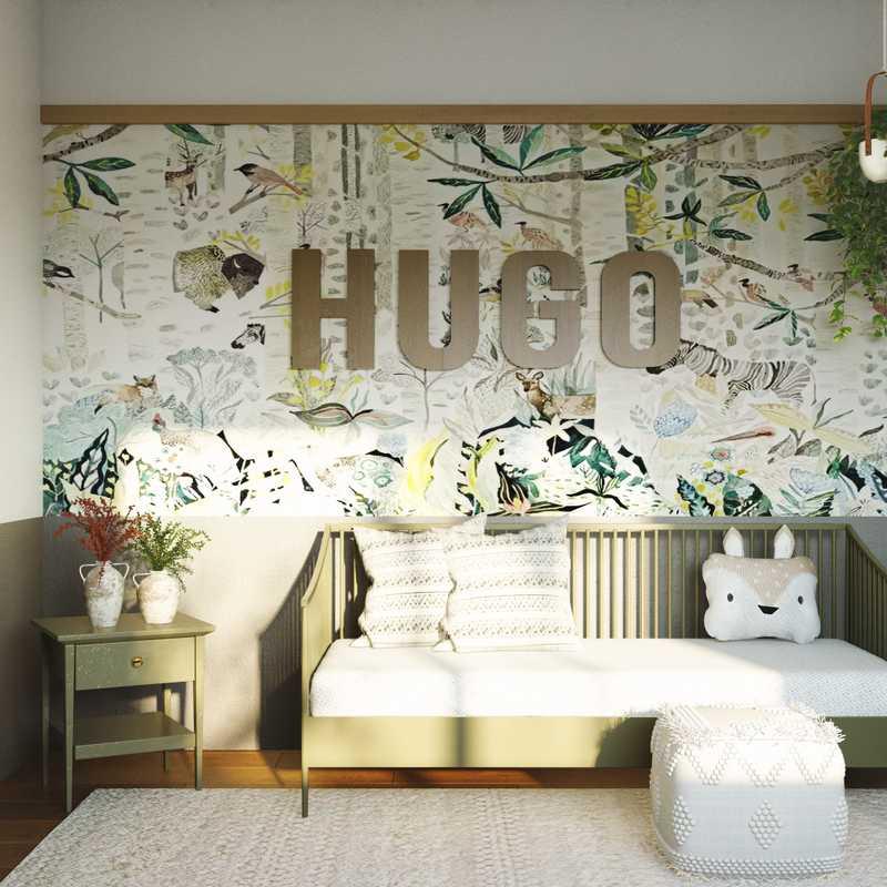 Contemporary, Bohemian Nursery Design by Havenly Interior Designer Izzy