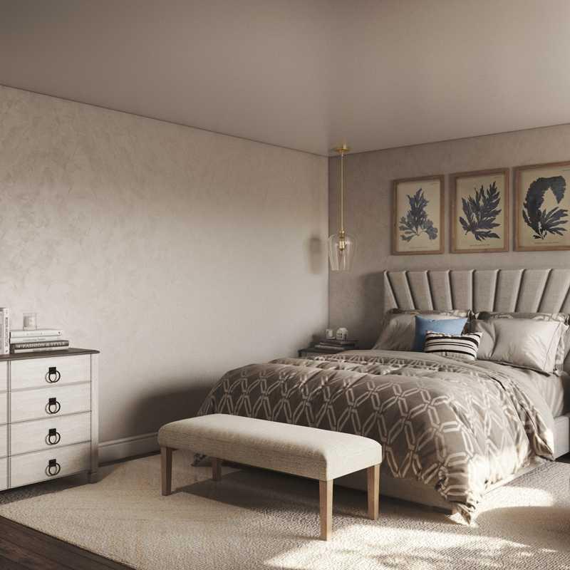 Coastal Bedroom Design by Havenly Interior Designer Vaishali