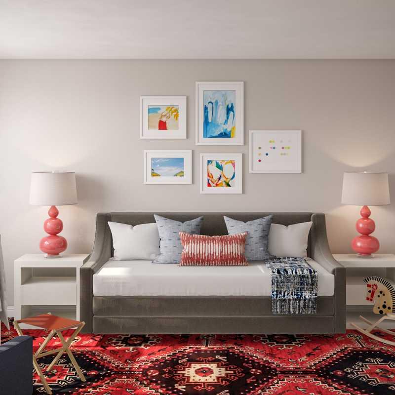Contemporary, Eclectic, Vintage Nursery Design by Havenly Interior Designer Annie