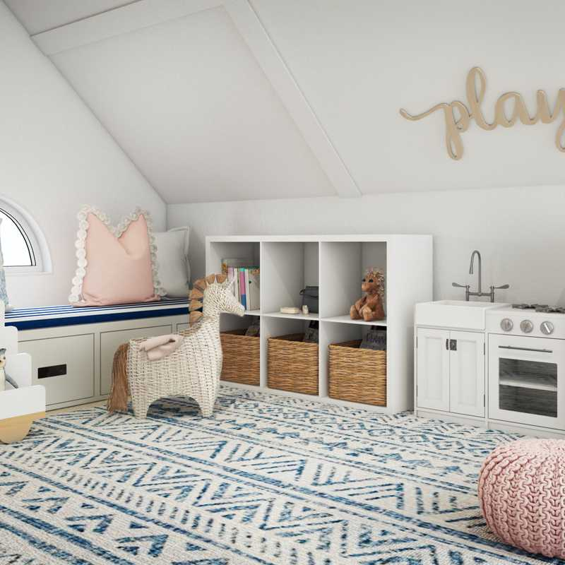 Bohemian, Coastal, Traditional, Preppy, Scandinavian Other Design by Havenly Interior Designer Kacey