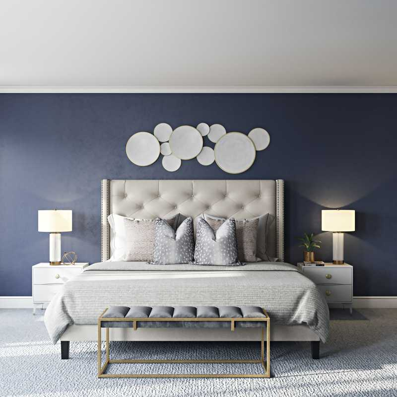 Contemporary, Modern, Classic, Transitional Living Room Design by Havenly Interior Designer Aleena