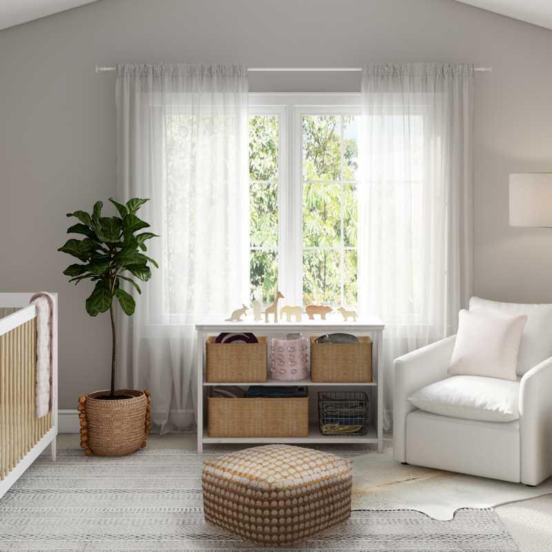 Modern, Eclectic Nursery Design by Havenly Interior Designer Amanda