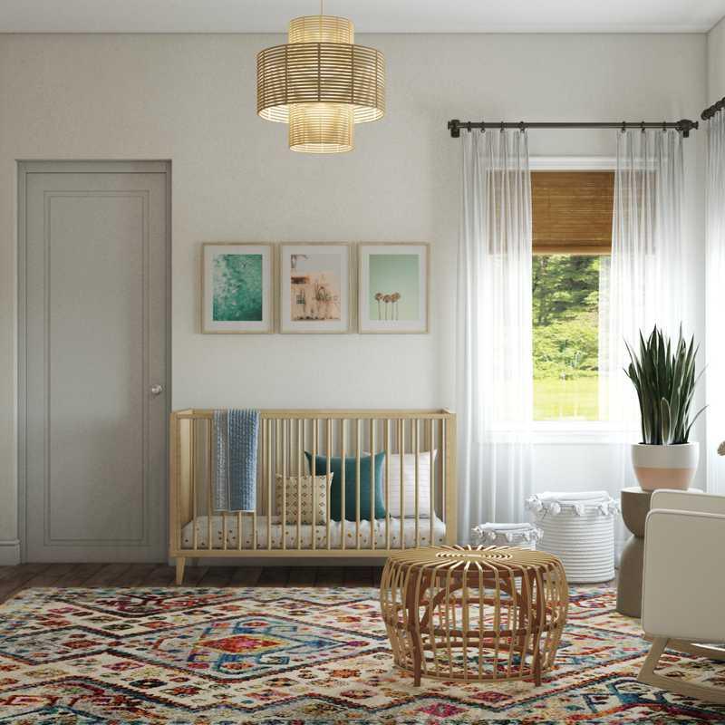 Bohemian Nursery Design by Havenly Interior Designer Henrieta