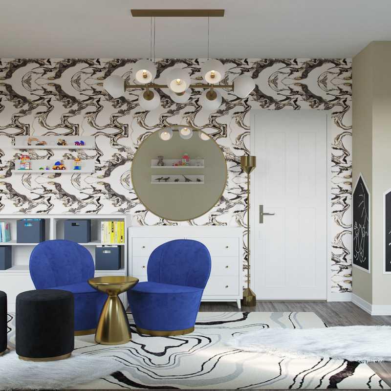 Eclectic Nursery Design by Havenly Interior Designer Julio