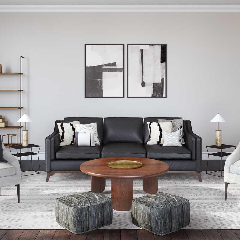 Living Room Design by Havenly Interior Designer Kristine
