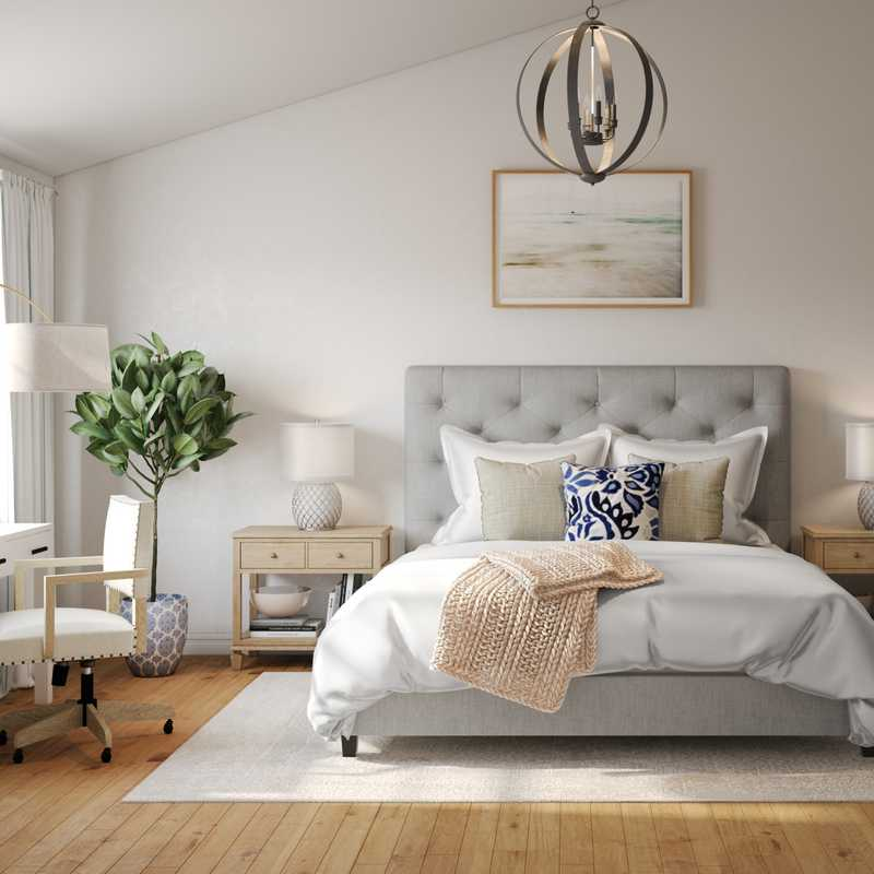 Coastal Bedroom Design by Havenly Interior Designer Ellis