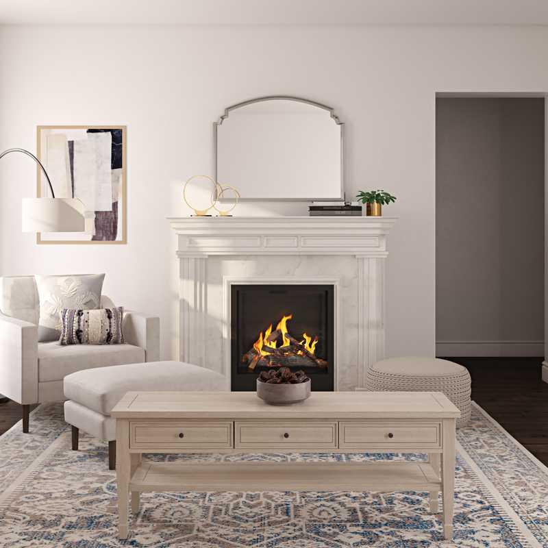 Modern, Classic, Transitional Living Room Design by Havenly Interior Designer Aleena