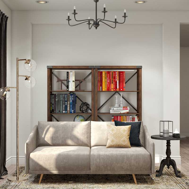 Eclectic, Industrial, Traditional Office Design by Havenly Interior Designer Eva