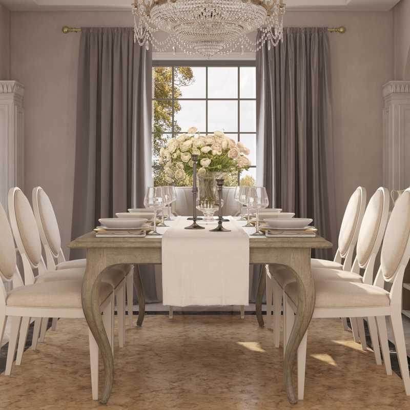 Classic Dining Room Design by Havenly Interior Designer James