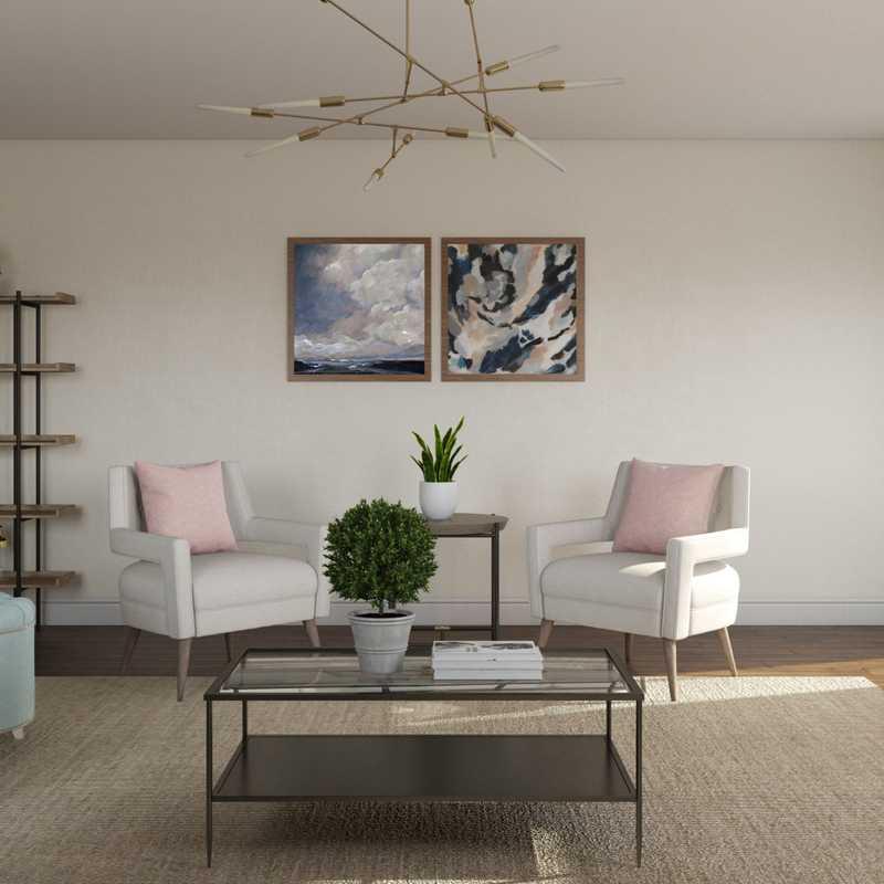 Classic, Traditional Living Room Design by Havenly Interior Designer Vivian
