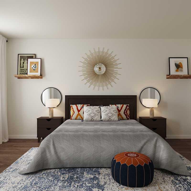 Eclectic, Bohemian, Scandinavian Bedroom Design by Havenly Interior Designer Edith