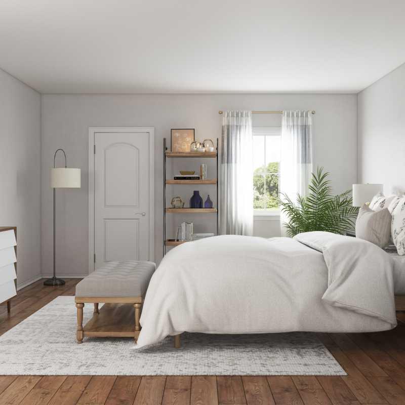 Classic, Coastal Bedroom Design by Havenly Interior Designer Ellis