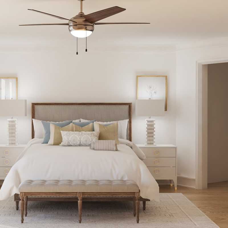 Classic, Coastal Bedroom Design by Havenly Interior Designer Tracie