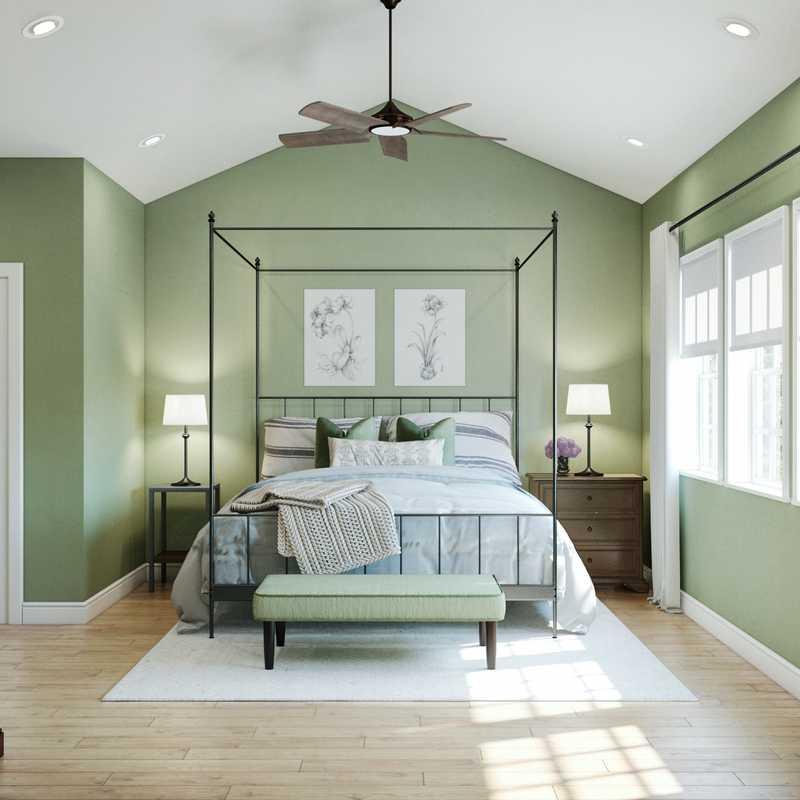 Classic, Traditional, Farmhouse Bedroom Design by Havenly Interior Designer Marsha