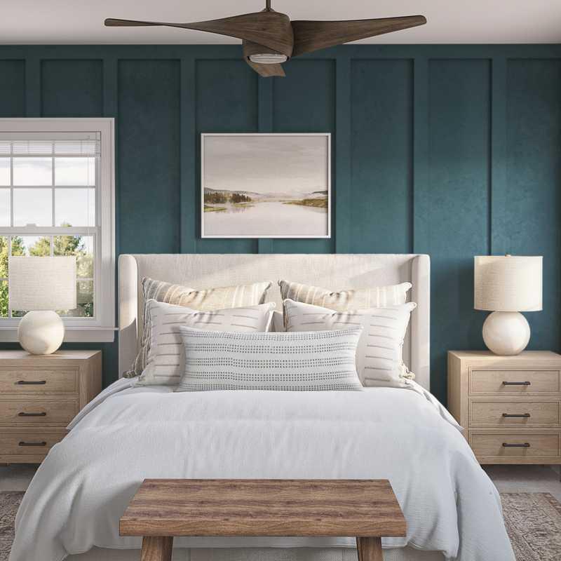 Eclectic, Bohemian Bedroom Design by Havenly Interior Designer Jessica