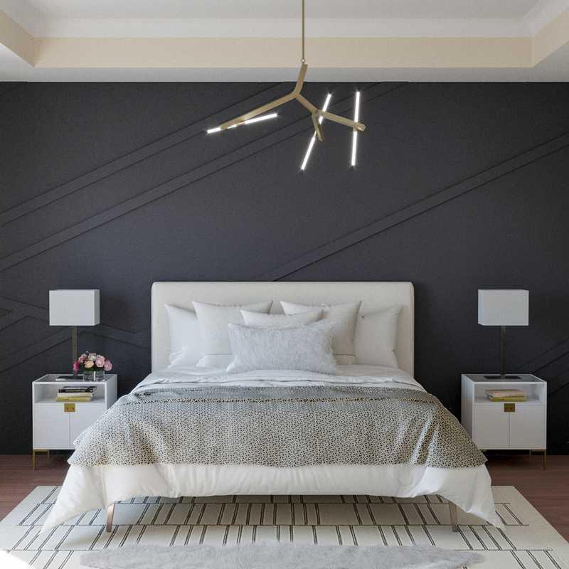 Modern Bedroom Design by Havenly Interior Designer Autumn