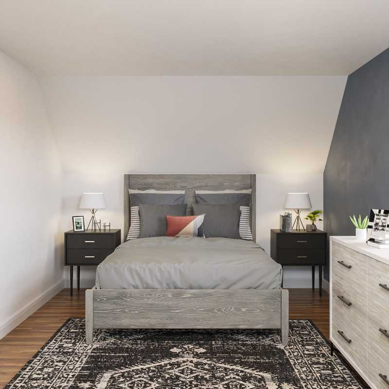 Contemporary Bedroom Design by Havenly Interior Designer Brady