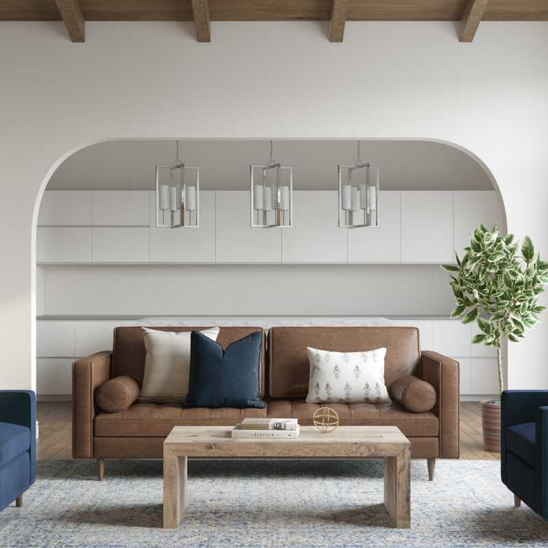 Living Room Design by Havenly Interior Designer Catherine